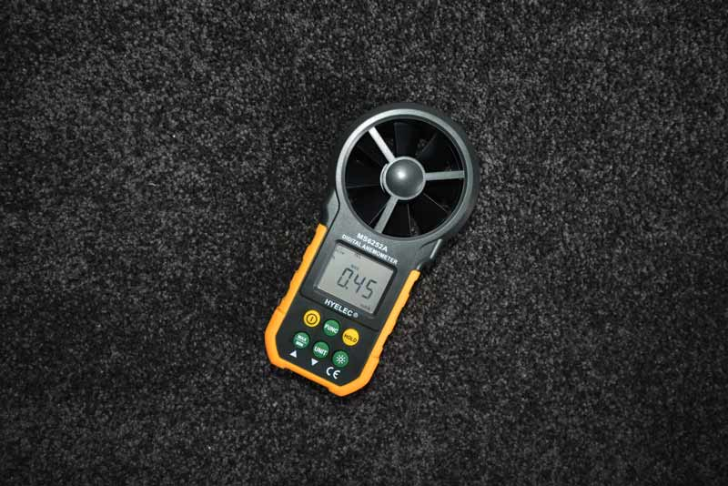 Tower Fan reviews anemometer