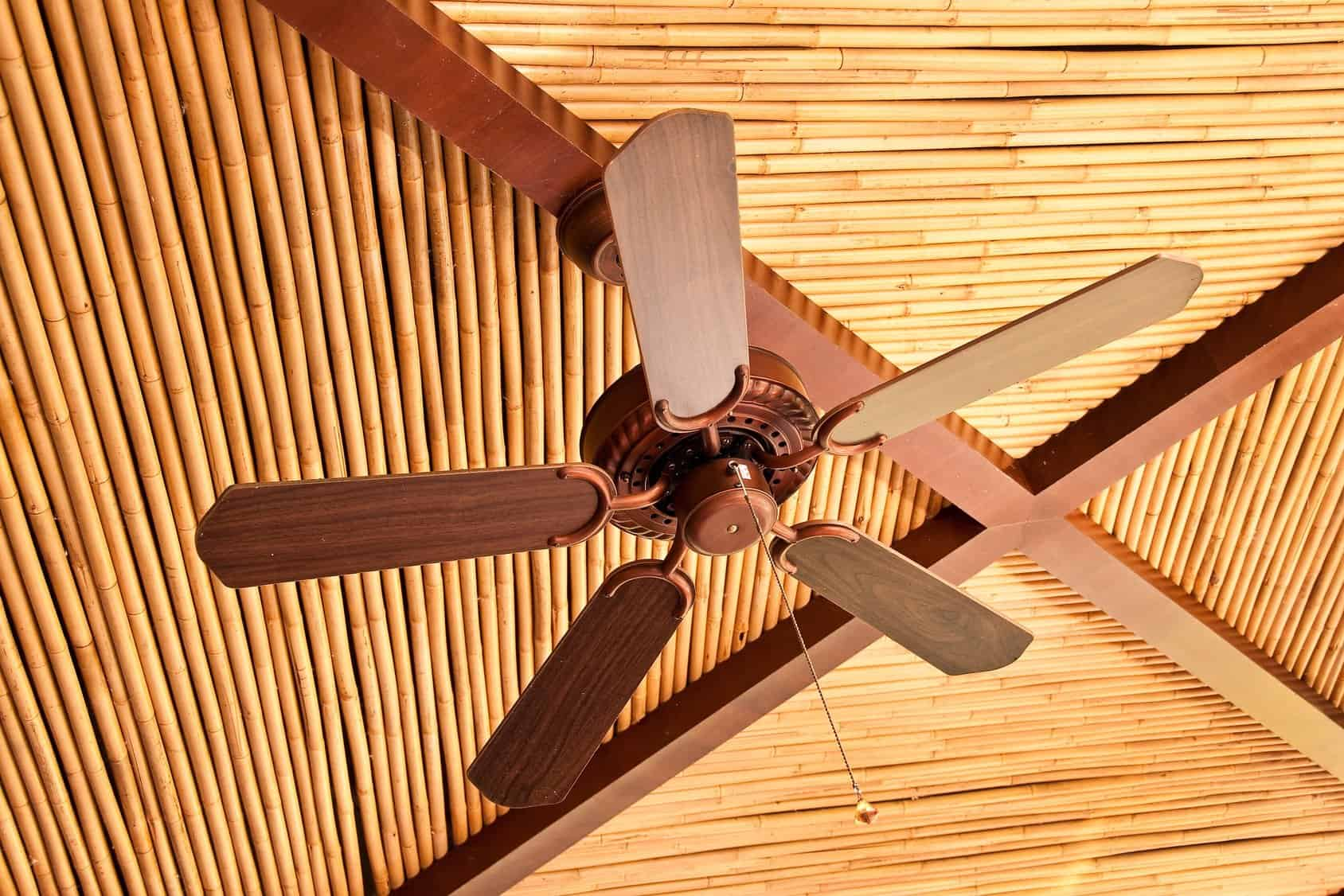rustic ceiling fans get a fan thatu0027s the right size