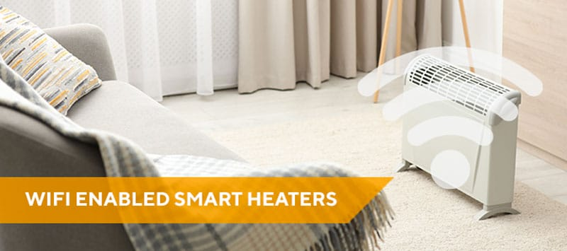 Smart heater in room